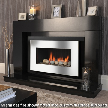 Crystal Fires Miami Gas Fire Flames Co Uk